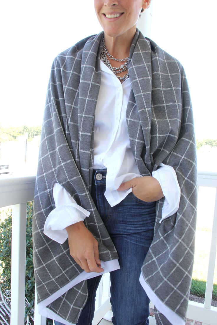 How to make an easy Cape Scarf