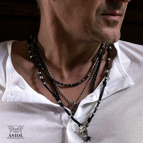 Dark Side - naszyjnik / Anioł / Biżuteria / Dla mężczyzn