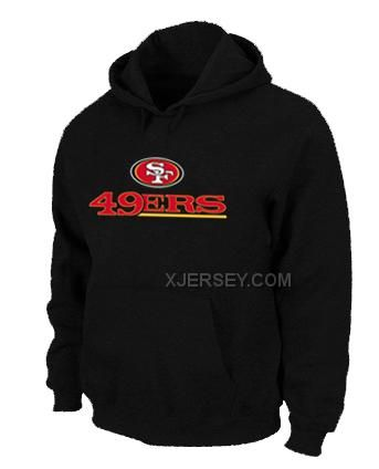 http://www.xjersey.com/san-francisco-49ers-authentic-logo-pullover-hoodie-black.html SAN FRANCISCO 49ERS AUTHENTIC LOGO PULLOVER HOODIE BLACK Only $50.00 , Free Shipping!