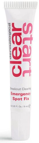 Dermalogica Clear Start Breakout Clearing Emergency Spot Fix is a targeted pimple cream formulated to clear occasional breakouts fast.  #skincare