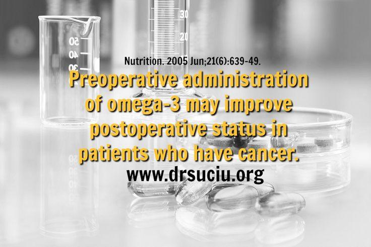 Picture Omega 3 supplementation improve postoperative status in cancer - drsuciu