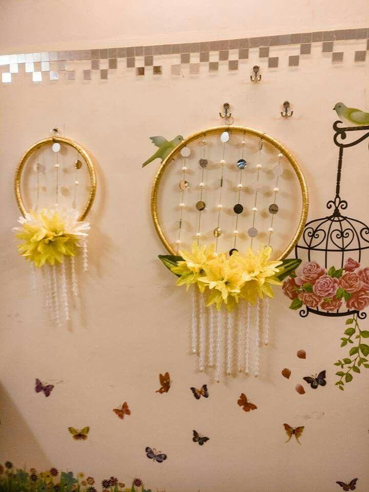 Hanging Wall Decor Diy Diwali Decorations Diwali Decorations At