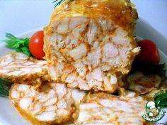 "Рулет из курицы ""Мраморный""Chicken roll ""Marble"" Recipe in Russian"