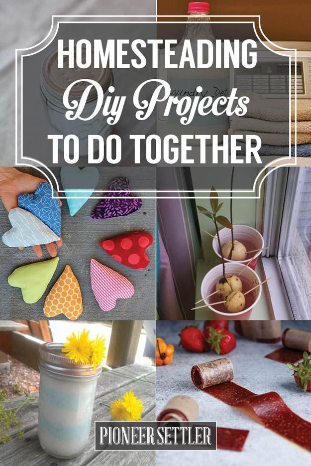 DIY Weekend Projects To Do Together! | Couples Ideas For Valentine's Day | Homesteading Ideas | DIY And Self Sufficiency by Pioneer Settler at http://pioneersettler.com/diy-weekend-projects/