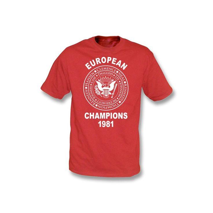 Liverpool European Champions 1981 (Ramones Style)