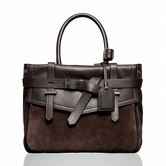 Reed Krakoff | Boxer - 2 tone brown leather and suede mmm