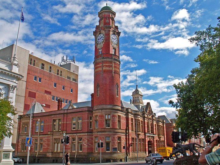 Post Office Clock tower, Launceston