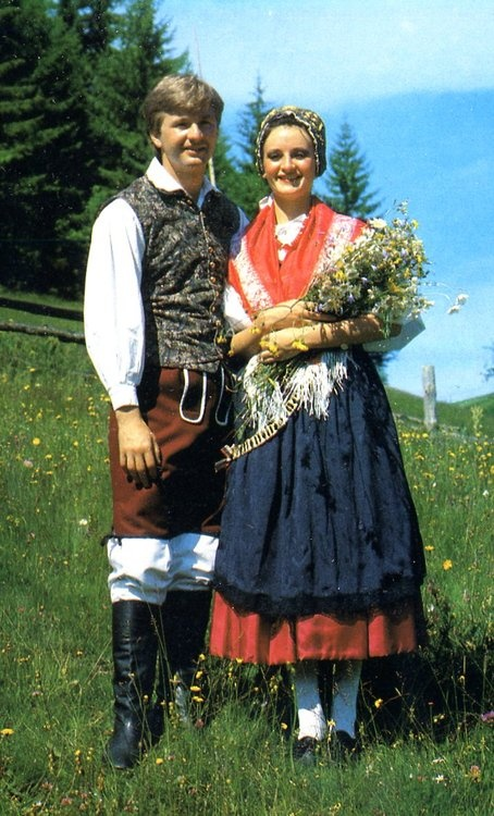 Costume of Gorenjska, Slovenia