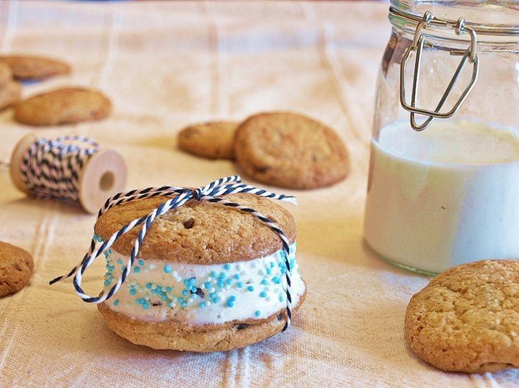 Ice cream sandwich cookie