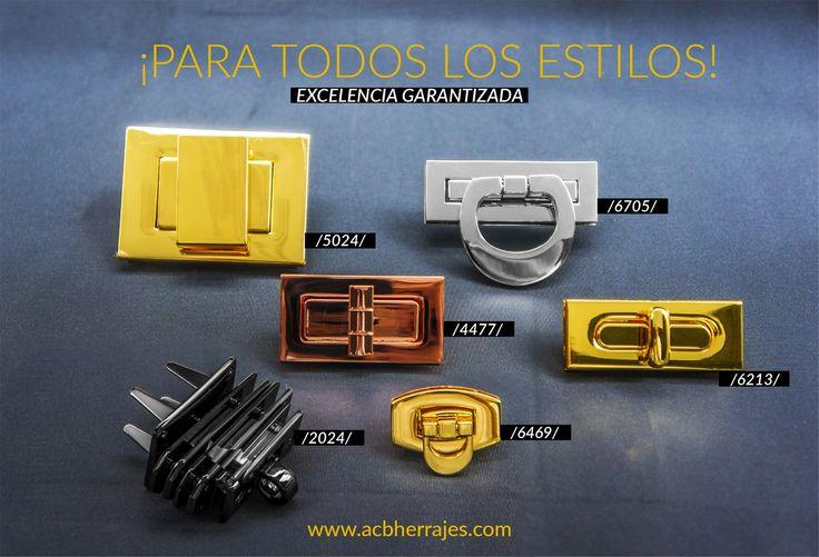 ABC Herrajes no se queda atrás; demostramos cubrir cualquier estilo, con elegancia y lujo.  Visítanos en: www.abcherrajes.com  Nos puedes encontrar en:  #Bogota: Calle 74A # 23-25 / Tel: 2115117  #Medellin: Diagonal 74B # 32-133 / Tel: 3412383  #Barranquilla: Cra 52 # 72-114 C.C. Plaza 52 / Tel: 3690687  #ABCHerrajes #Ironworks #irondesign #Moda #Marroquineria #fashion #fashionpost #Cuero #gold…