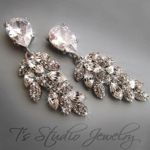 CAROLYN CZ Bridal Earrings