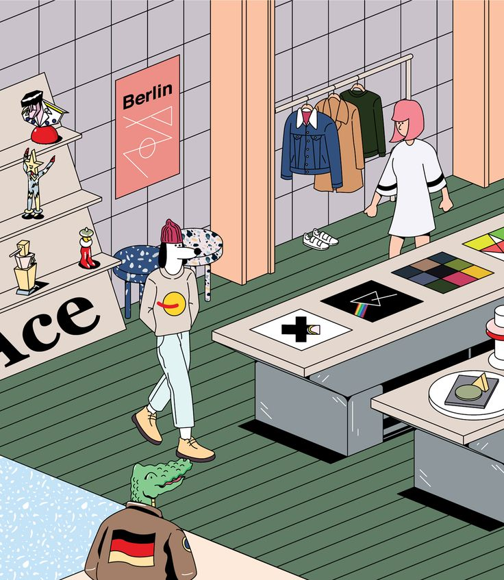 WWD Magazine | Berlin Concept Store on Behance