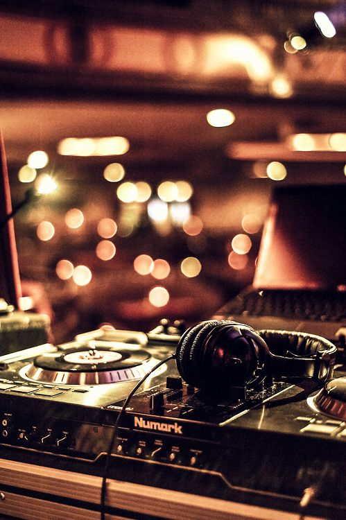 My secret desire is to be a DJ.