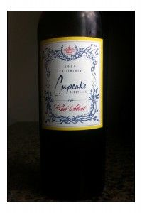 """Love my Cupcake Wines...Red Velvet...you can have your """"cake"""" and Cupcake too!"""