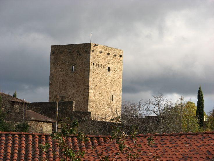 La Torre del Castillo de San Martín del Castañar.