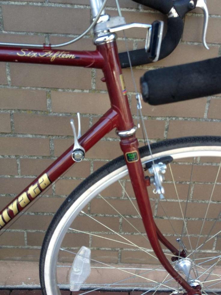 Bike Boom refurbished bikes: 1988 Miyata six fifteen touring bike