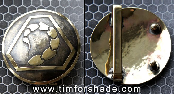 CC Brotherhood of NOD belt buckle by TimforShade on DeviantArt