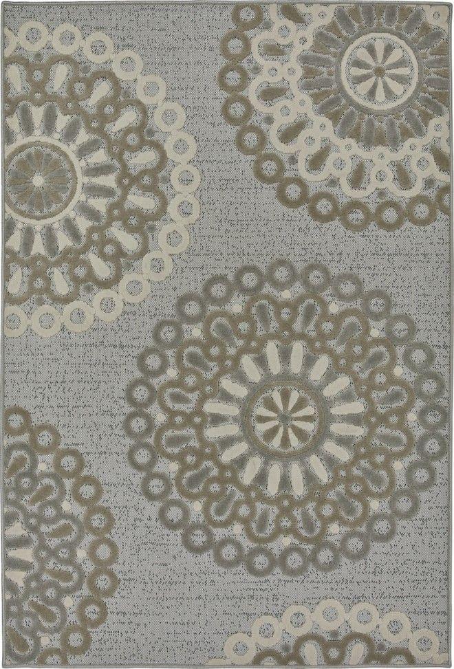 Tappeto lavabile Outdoor/indoor MIRAGE 200x285 art. 560/FQ7E  Materiale: polipropilene 100% Descrizione: Tappeto lavabile in acqua Peso: gr 1300/mq ca. Colore: Grigio Ambiente: Outdoor Living  #tappeto #tappeti #indoor #outdoor #carpet #lavabile