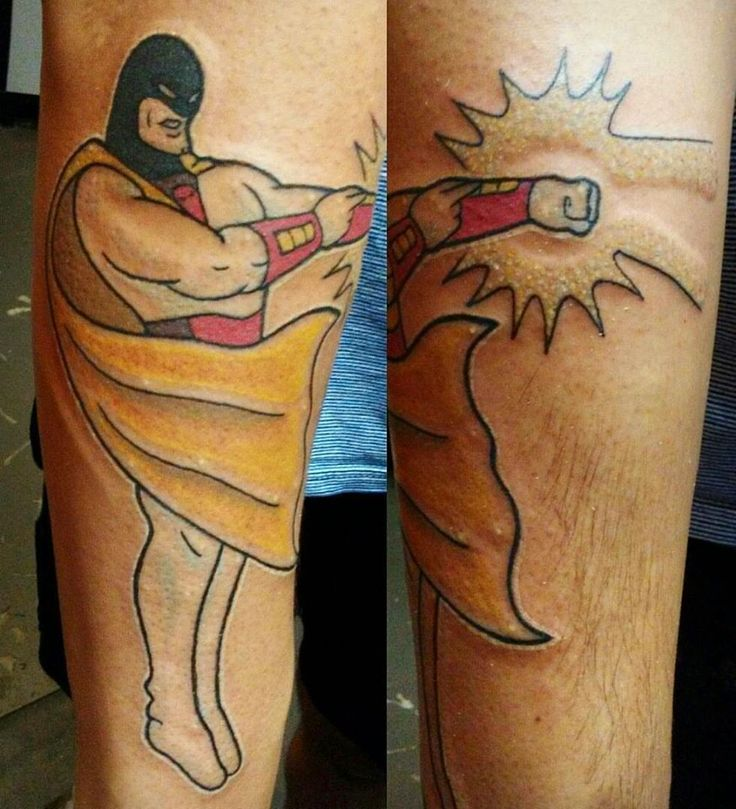 Space Ghost by Madeline Ward at Demon Ink in Houston TX