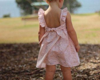 Isabella Dress rosa polvoriento de vestido por LottieClothing