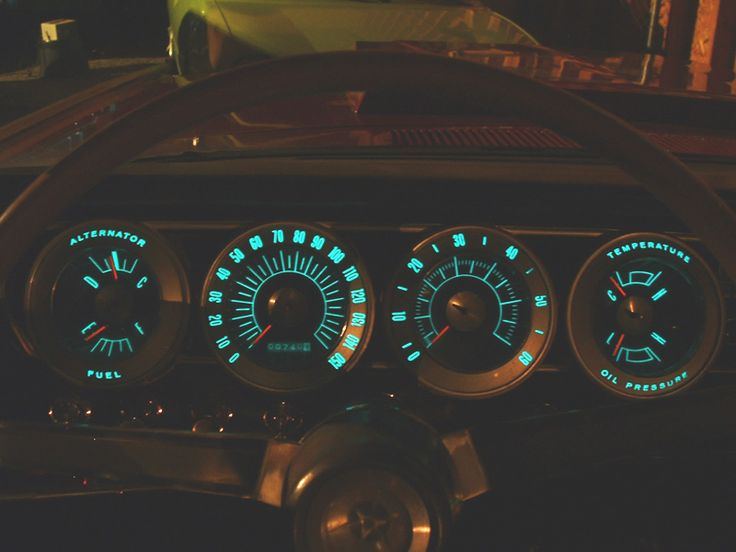 1966 Dodge Charger instrument panel with electroluminescent lighting. Chrysler first introduced cars with electroluminescent panel & 47 best Electroluminescence/ images on Pinterest | Lights Blog ... azcodes.com