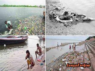 5 Fakta Tentang Sungai Gangga Yang Bikin Hambar