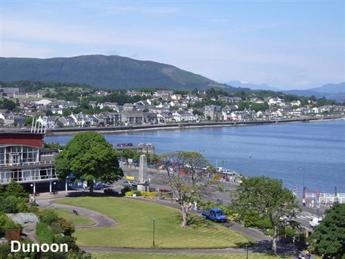 Dunoon, Scotland...where I spent the first two years of my life!