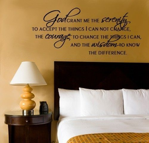 Serenity Prayer - this will absolutely 100% be in my home at some point. favorite prayer/quote/whatever in the entire world.