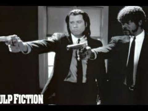 ▶ Pulp Fiction Theme: Surf Rider - YouTube