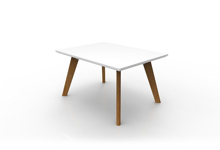 SKU29 - OSLO Relax Coffee Table Rectangular  - White Top.