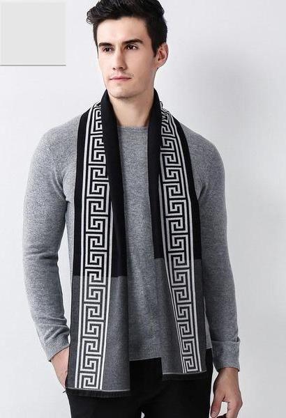 DANKEYISI Brand Designer Thick Winter Scarf Men Autumn Fashion Warm Large Long Shawl Warm Blanket Scarf Male Bandana 2017