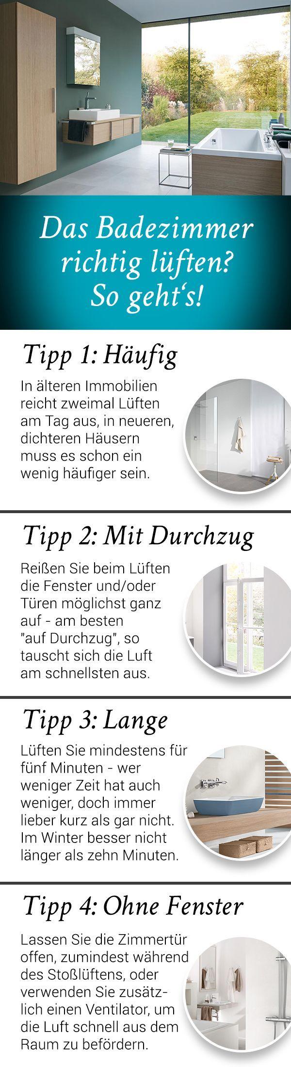 Das Badezimmer richtig zu lüften, ist aufgrund der Bildung von Feuchtigkeit wic…  #aufgrund #badezimmer #bildung #feuchtigkeit
