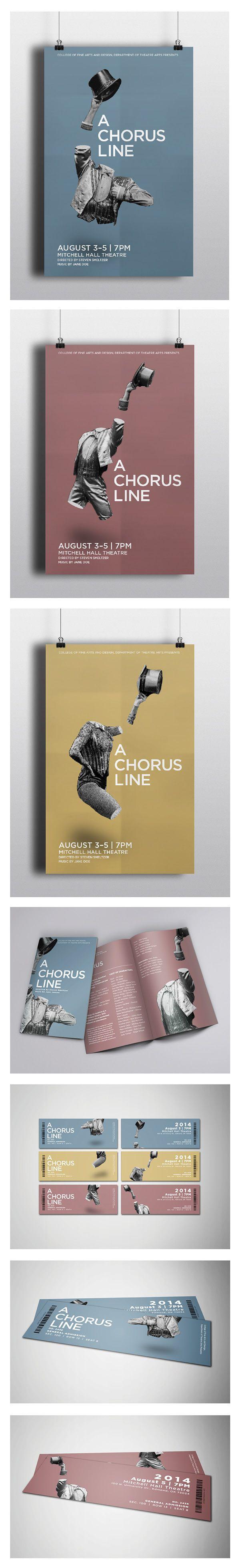 A Chorus Line on Behance
