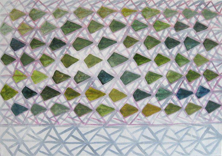 Download en druk af, digitale abstracte geometrie kunst door VeraNievelstein op Etsy