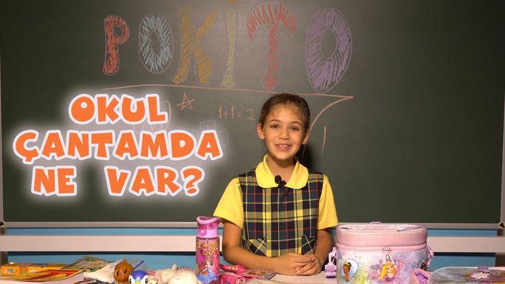 Isabella Damla Güvenilir'in okul çantasına neler var görmek ister misin? #alışveriş #okul #çantamdanevar #elif #elifdizisi