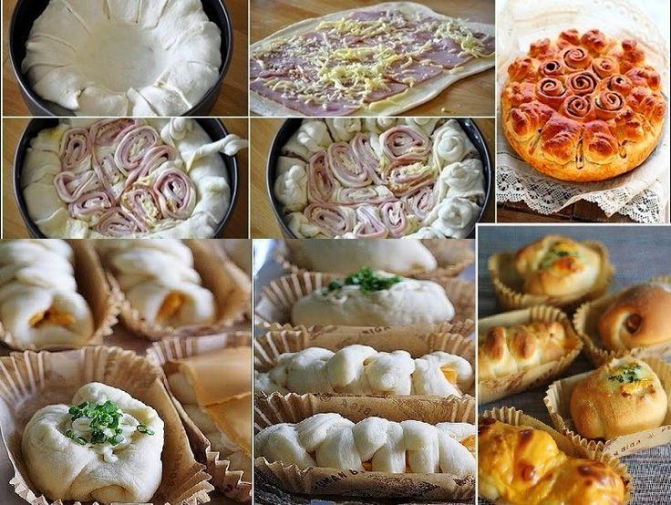 Θα μπορούσατε να φανταστείτε με μία ζύμη να συνδυάσετε απίστευτες γευστικές ιδέες για έναν εντυπωσιακό μπουφέ ή ένα τραπέζωμα σε φίλους σας; Σας δίνουμε την βασική συνταγή της ζύμης και πάρτε μάτι τι μπορείτε να