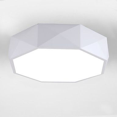 Flush Mount , Modern/Contemporary Painting Feature for LED Metal Living Room Bedroom Dining Room Kitchen 5642346 2017 – $75.19