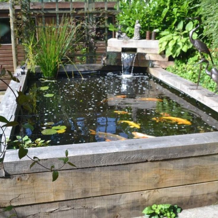 Creative DIY Koi Pond Designs You Can Build Yourself To