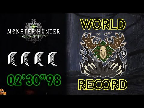 MHW | Ancient Leshen (4 Aerial Great Sword) 02'30