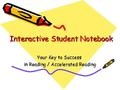 slidehare on setting up interactive student notebooks.  planning to use these this year with my intermediates