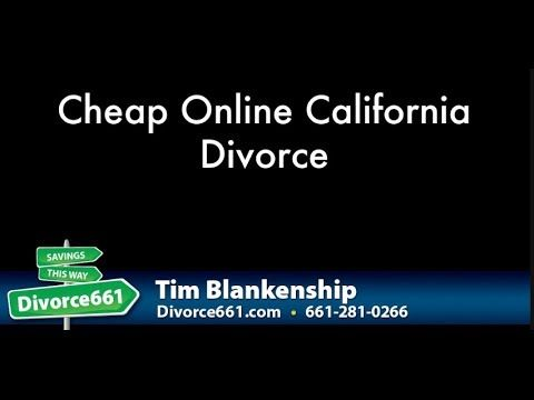 Cheap Online California Divorce  This video is about California divorce. We offer an affordable divorce service in California and we can help you save money on your California divorce.