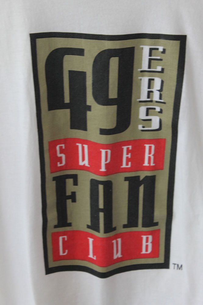 San Francisco 49ners anyone? I know there are some super fans out there! Size: Extra Large