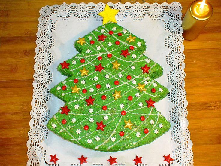 Tarta de Navidad. .   https://www.youtube.com/watch?v=TKR1HJRjqPo  ----------------- También en el Blog:  http://lacocinadelolidominguez.blogspot.com/2014/12/tarta-de-navidad.html