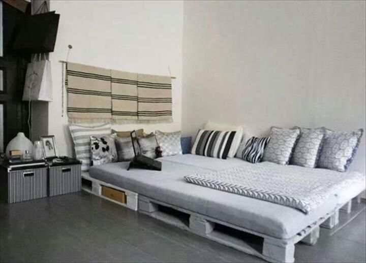 Best Repurposed Furniture Images On Pinterest Pallet Bed