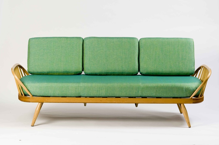 @Ercol Furniture Studio Couch in Emerald. See it at #EDIT