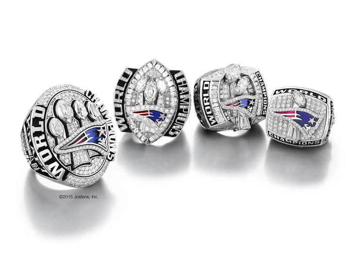 All 4 New England Patriots Super Bowl Rings. Robert Kraft hosts ceremony to present Patriots Super Bowl XLIX Championship rings | New England Patriots