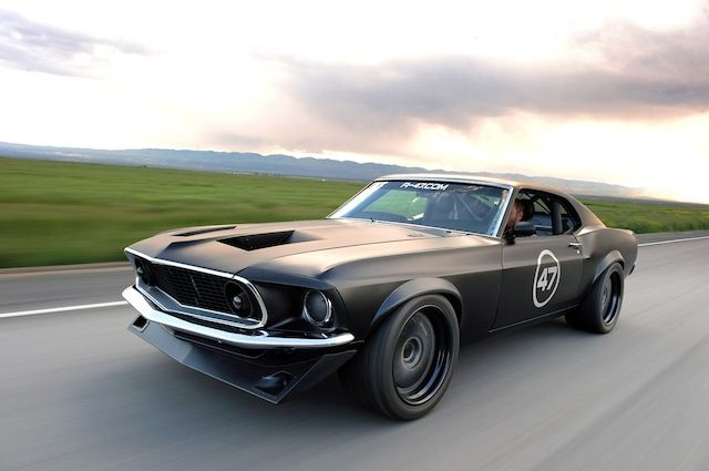 Agent 47's Mustang. Seriously fast and kick-ass.