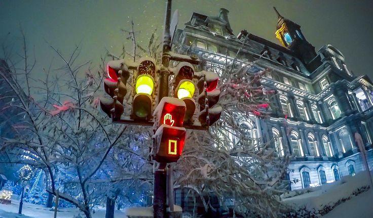 Tempête de neige à Montréal - 10 décembre 2014 / Snow storm - Montreal