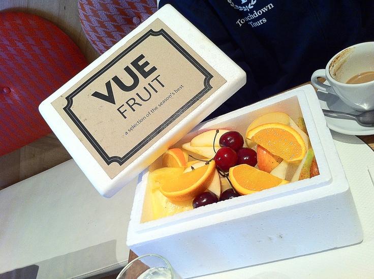 Fruit Box at Cafe Vue, 401 St Kilda Road Melbourne VIC 3004.