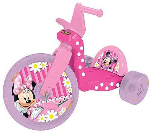"""Minnie Mouse 16"""" Racer The Original Big Wheel       Famous Words of Inspiration...""""Do not compute the totality of your poultry population until all the manifestations of incubation have been entirely completed.""""   William Jennings... more details available at https://perfect-gifts.bestselleroutlets.com/gifts-for-babies/kids-bikes-accessories/product-review-for-minnie-racer-the-original-big-wheel/"""